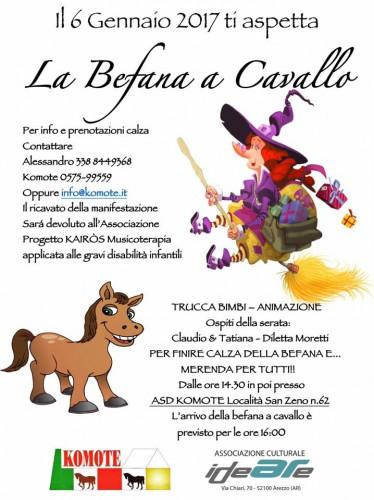 La Befana A Cavallo Arezzo