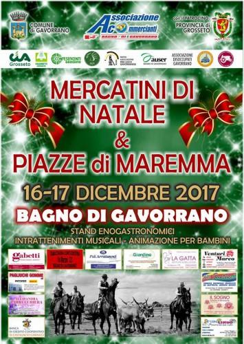 Mercatini di natale gavorrano - Bagno di gavorrano ...