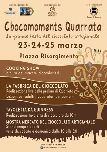 Locandina di Chocomoments a Quarrata