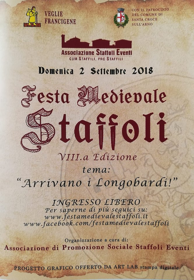 Locandina della Festa Medievale a Staffoli