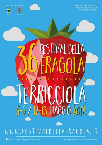 Locandina del Festival della Fragola a Terricciola