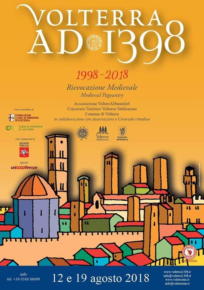 Locandina di Volterra AD 1389