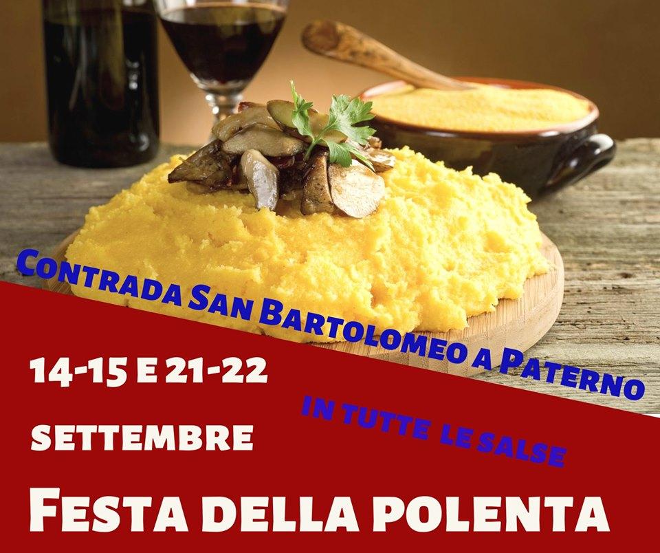 Locandina della Festa della Polenta in tutte le Salse a Castelfranco di Sotto