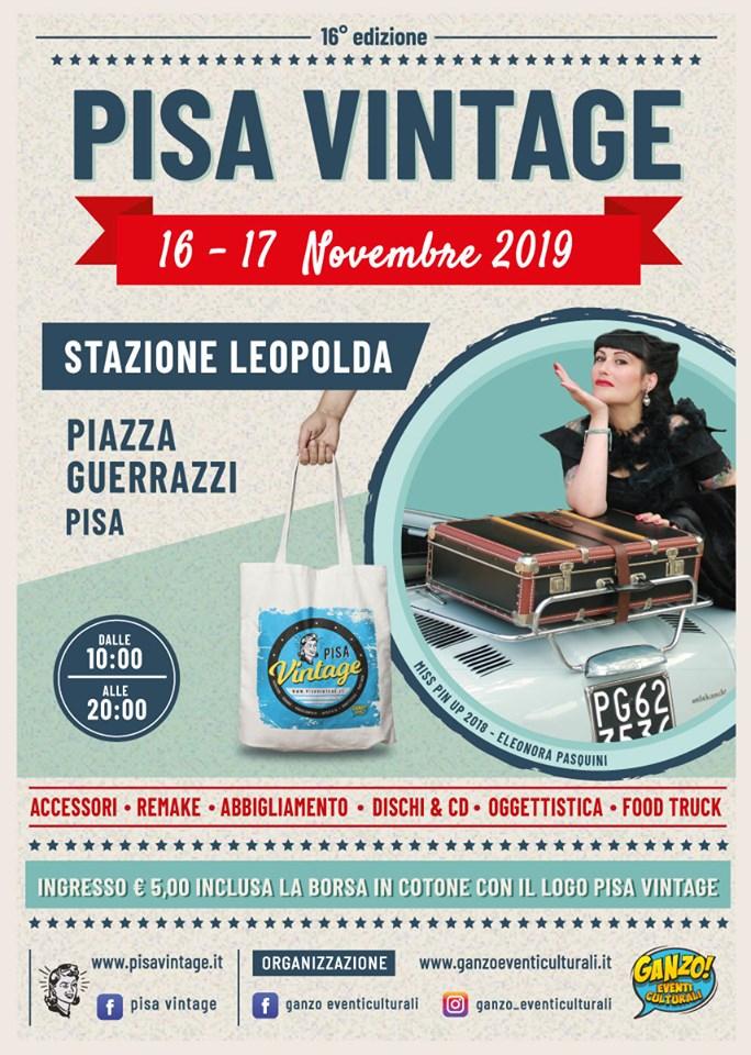 Locandina di Pisa Vintage