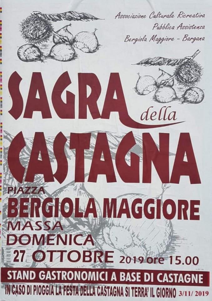 Sagra della Castagna a Bergiola Maggiore, Massa